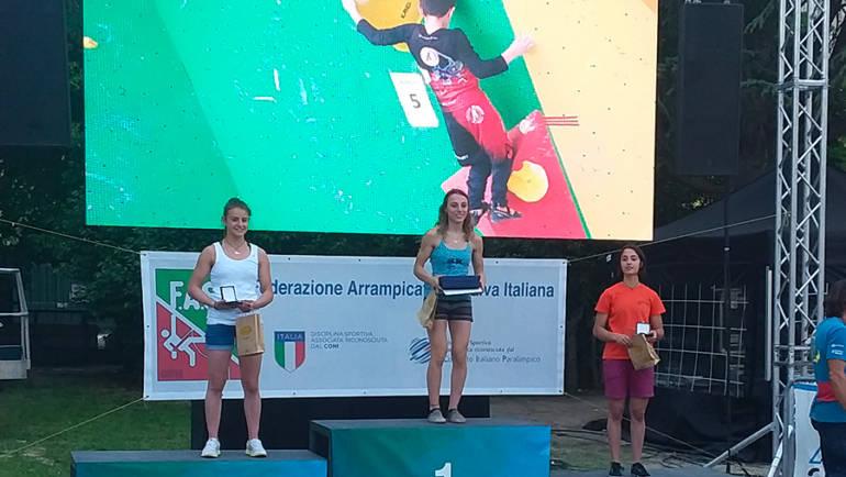 CAMPIONATI ITALIANI GIOVANILI: PODIO BETA HOUSE PER U20 FEMMINILE!